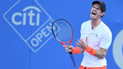 Murray gets past Edmund in all-British second-round matchup at Citi Open; Tiafoe advances