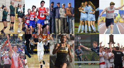 Potential cover photo options for the Howard County Times Sports Facebook and Twitter pages.