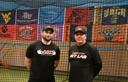 Absolute Sports Performance owners Travis Hash, left, and Bill Goudy have been training athletes at their Abingdon facility for approximately two years.
