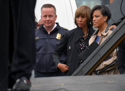Democratic mayoral nominee Pugh aligned with Rawlings-Blake, activists