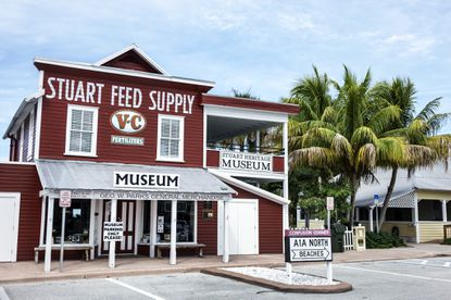 The Stuart Heritage Museum is in a 1901 building that operated as Stuart Feed Store until the late 1980s, when the city bought it. The museum is open seven days a week with free admission.