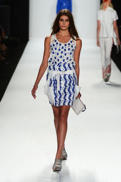 Hilary Phelps, John-John Williams at NY Fashion Week: Rebecca Minkoff