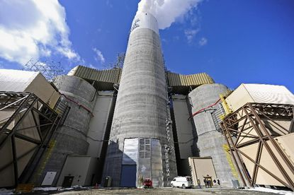 The Obama administration unveiled limits on carbon emissions from new power plants. EPA plans to set curbs next year for existing plants, like Baltimore's Brandon Shores pictured here.