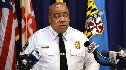 "Baltimore Police Commissioner Michael Harrison is reshaping the department's command structure. ""Right now, I am in the middle of making command and executive level assessments,"" he said."