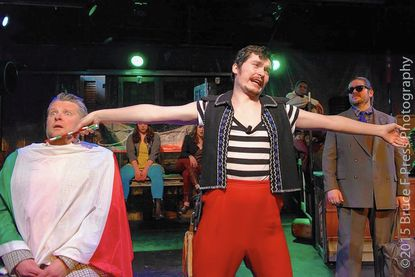 'Sweeney Todd' serves more than meat pies