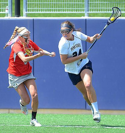 Penn State sophomore Maggie McCormick, a Liberty graduate, had 40 goals and 32 assists through 16 games, and her name has been added to the watch list for this year's Tewaaraton Award.