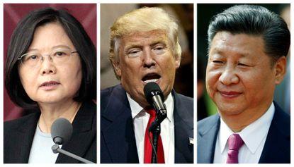 Ing-wen, Trump, Xi