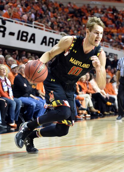 In Dez Wells' absence, Jake Layman has stepped up to lead the Terps