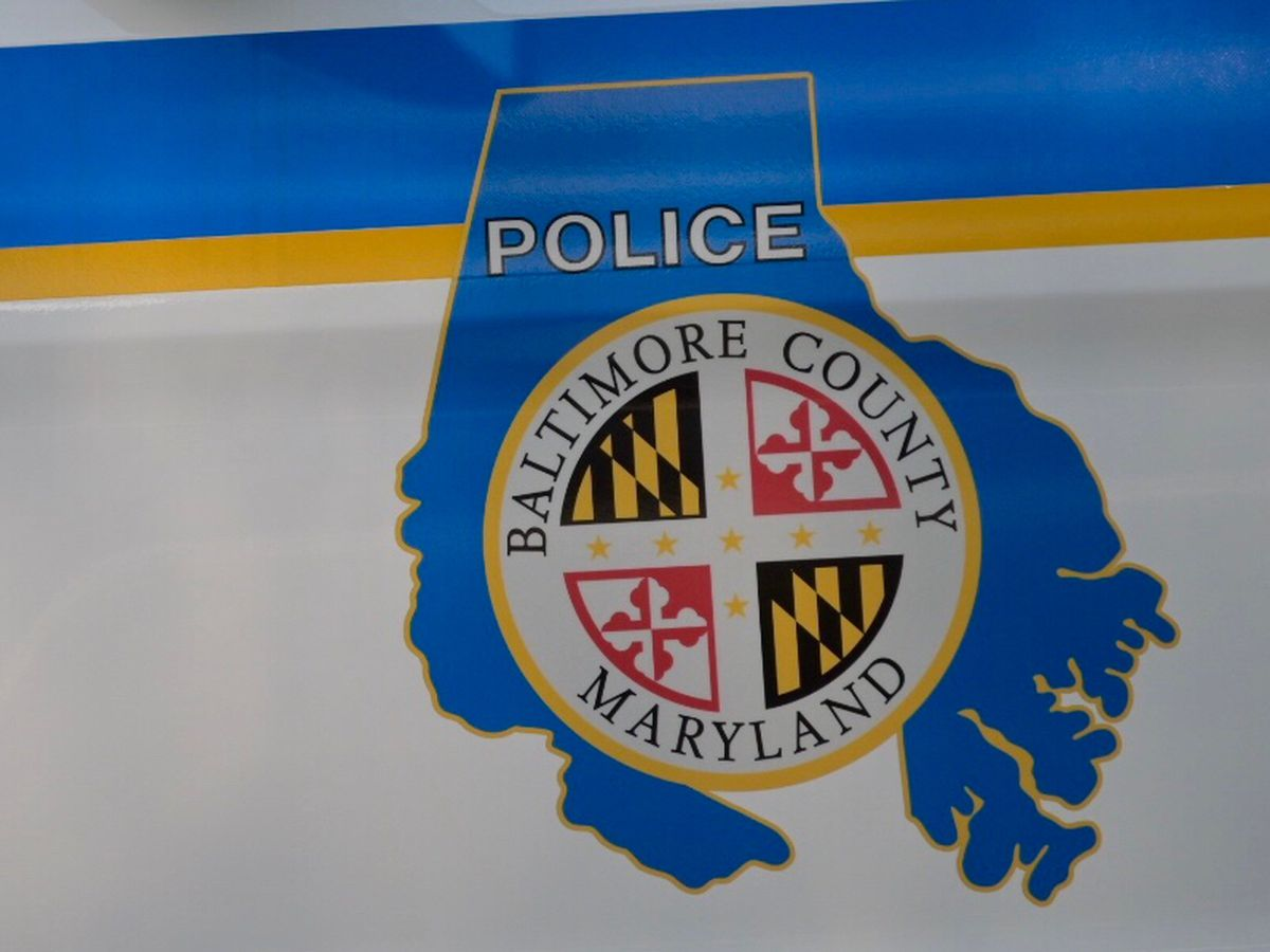 Woman arrested after crashing stolen car into Baltimore County police car, injuring officer, police say