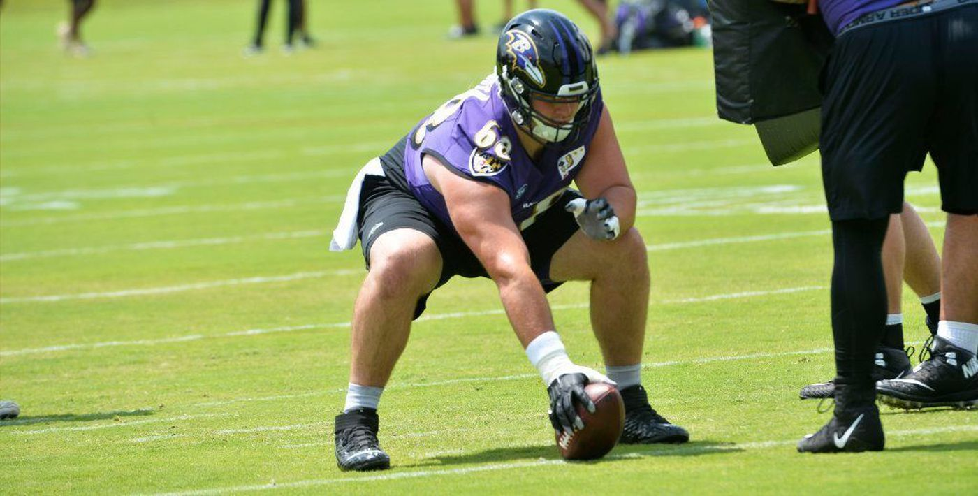 Ravens 2019 training camp preview: Offensive line
