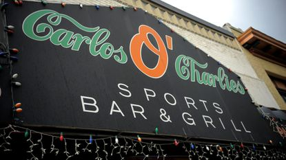 Carlos O'Charlies has been sued by the American Society of Composers, Authors and Publishers, which says the bar does not have proper licensing for the music it plays.