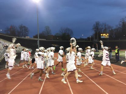 Towson senior Boudreau dominates faceoffs as Generals pull away from Dulaney in boys lacrosse