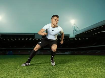 Under Armour signs European soccer player Granit Xhaka