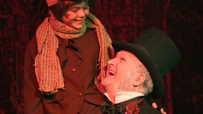"""Tiny Tim, Ebenezer Scrooge and the rest of the cast of the Dickens classic """"A Christmas Carol"""" will be at the Carroll Arts Center in Westminster Friday and Saturday, Dec. 7 and 8 at 8 p.m., with a 3 p.m. matinee on Saturday."""