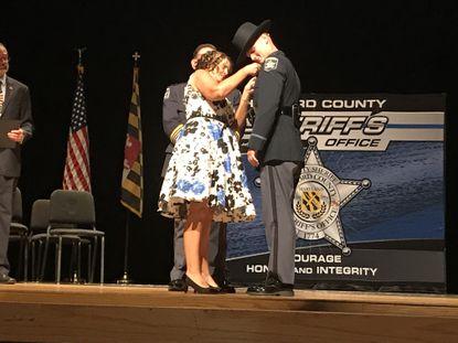 Deputy Tyler Dailey, son of slain Senior Deputy Patrick Dailey, among 19 to graduate Harford Sheriff's Academy