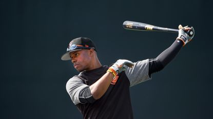 Cedric Mullins started the season as the Orioles' center fielder but was demoted to the minor leagues after struggling.