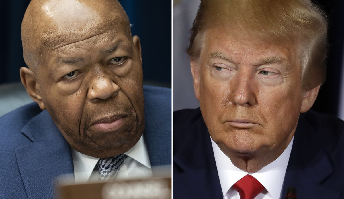 Ten times the late Rep. Elijah Cummings clashed with President Trump