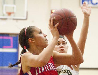 Mitchell helps power Centennial to win over Hammond in girls basketball