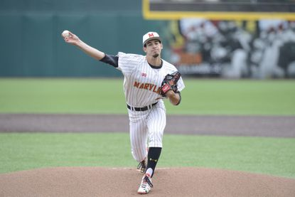 Maryland pitcher Brian Shaffer was named Big Ten Pitcher of the Year.