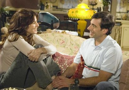 """Catherine Keener and Steve Carell in """"The 40-Year-Old Virgin."""""""