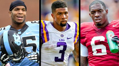 North Carolina tight end Eric Ebron, LSU wide receiver Odell Beckham Jr. and Alabama free safety Ha Ha Clinton-Dix have been listed as possible picks for the Ravens in the first round of this year's draft.