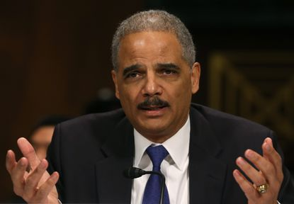 Former Atty. Gen. Eric H. Holder Jr. has been hired by the California Legislature to provide legal guidance on fighting against the Trump administration.