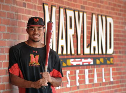 Maryland first baseman LaMonte Wade is a native Owings Mills and will join the Terps this weekend at Virginia for the Super Regional.
