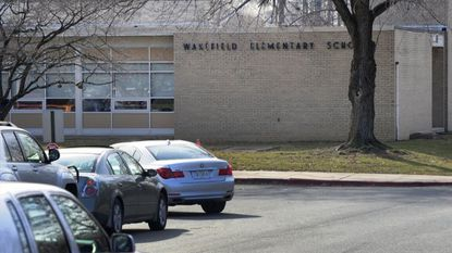 Enrollment at Homestead-Wakefield Elementary School in Bel Air has reached 111 percent of its capacity, making it one of the two most overcrowded schools in Harford County.