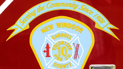 Firefighters and a tanker task force responded to a fully involved barn fire in Uniontown Monday night.