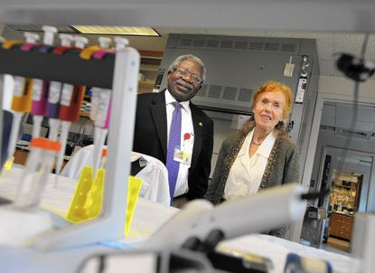 Dr. Vincent C.O. Njar and Dr. Angela M.H. Brodie have worked on developing galeterone for treating prostate cancer.
