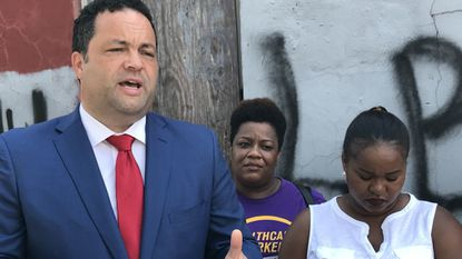 Democratic gubernatorial candidate Ben Jealous tells the same story at virtually every campaign stop.