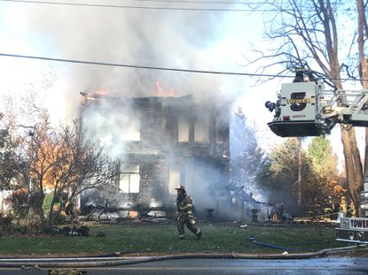 Crews for Harford and Cecil counties are on the scene of a fire in the 4000 block of Webster Road in Havre de Grace.
