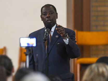 Del. Talmadge Branch says his experience in getting state money for his district and passing legislation makes him the best candidate to succeed the late U.S. Rep. Elijah Cummings in Congress. Branch spoke Thursday at the Howard County Branch of the NAACP forum for 7th Congressional District candidates at the First Baptist Church of Guilford.