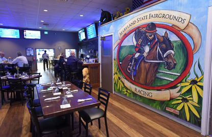 Both the OTB and Nick's Grandstand Grill & Crab House in The Maryland State Fairgrounds Grandstand in Timonium will be offering wagering and showing all races.