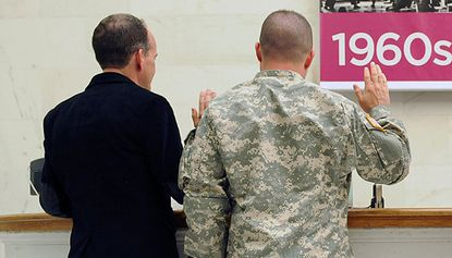 Looking Out: Pentagon to provide same-sex spouse benefits by end of the month