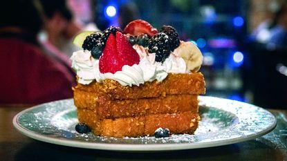The Cap'n Crunch French Toast served at the Blue Moon Cafe in Fells Point.