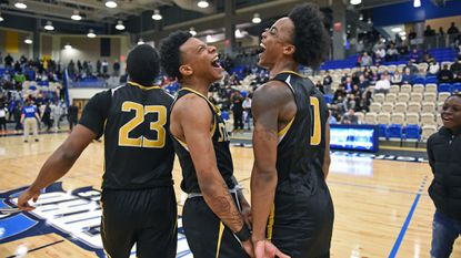 Baldwin, West lead St. Frances past Mount St. Joseph, 77-61, for MIAA A Conference basketball title