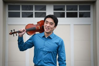 Edward Chi, a River Hill High School senior and a performer with the National Philharmonic Summer String Institute, will play with the Howard County Concert Orchestra on Jan. 19.