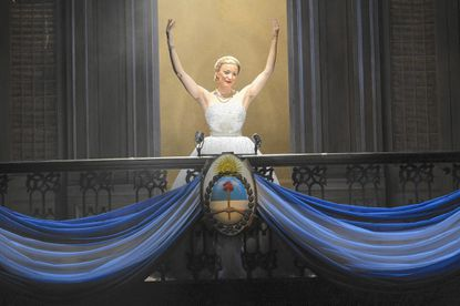 """Glenelg High graduate Caroline Bowman, currently starring as Eva Peron in """"Evita"""" at the Kennedy Center, returns home for """"Bringing Broadway to Columbia,"""" a Columbia Center for Theatrical Arts benefit on Oct. 13."""