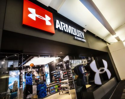 Under Armour's store-in-store.