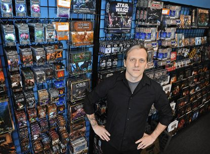 Ed Sloman is the owner of Games and Stuff.