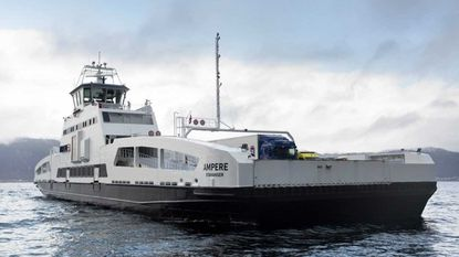 The battery-powered Ampere, launched in 2015, can transport up to 120 cars and 300 passengers with each 20-minute crossing of Norway's longest fjord.