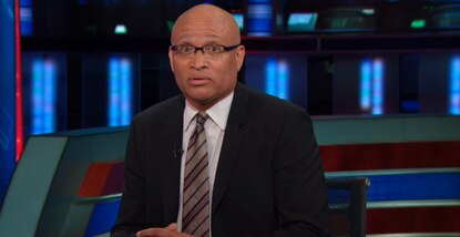 """Senior Black Correspondent"" Larry Wilmore has a problem with black Captain America."