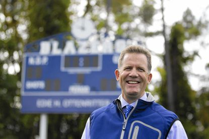 Reisterstown resident Mac Ford, seen here at Yeardley Love Field at Notre Dame Preparatory School in Towson, has been named the varsity lacrosse coach at the all-girls school.