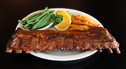 Bare Bones Grill & Brewery was voted Best Ribs and Best Happy Hour.