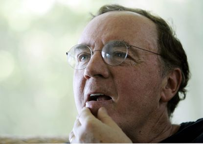"""Author James Patterson will visit Baltimore Sept. 16 to meet with civic leaders and donate 25,000 copies of his book """"Public School Superhero"""" to Baltimore public school students. (2006 file photo)"""