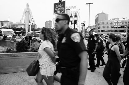 65 arrests at #AFROMATION protest that moved through Artscape and onto I-83