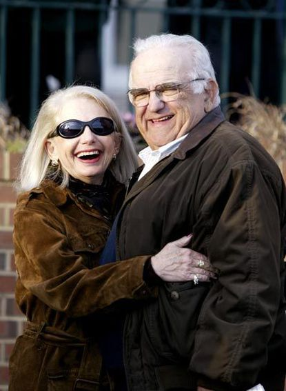 Sondra Bender (left) is pictured with her husband Howard.