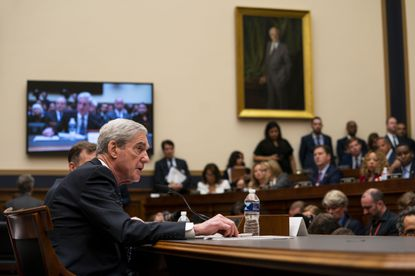 Robert Mueller, the former special counsel, testifies before the House Judiciary Committee in Washington on July 24, 2019.