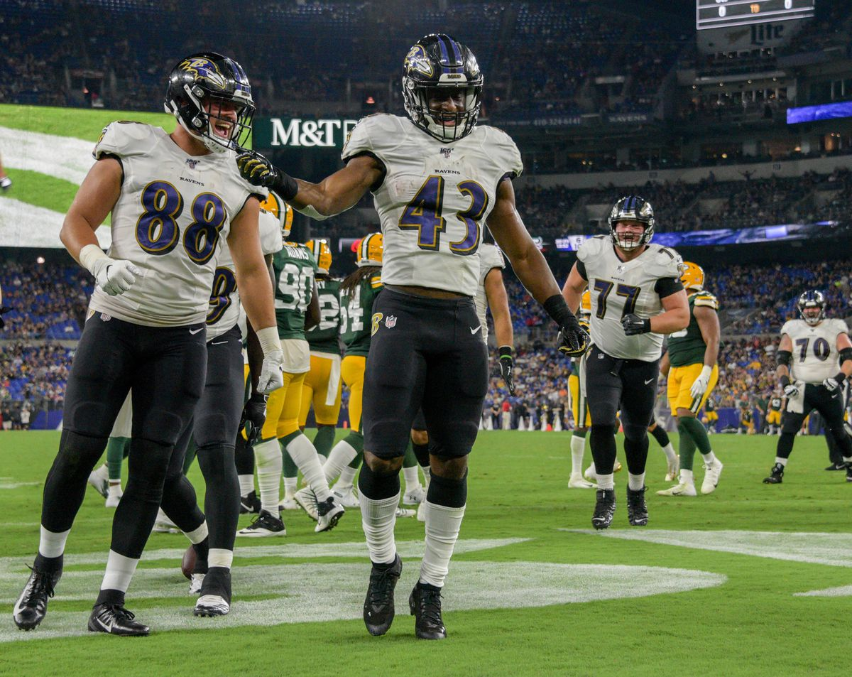 Ravens rookie Justice Hill standing out in crowded backfield: 'He really made some runs, didn't he?'
